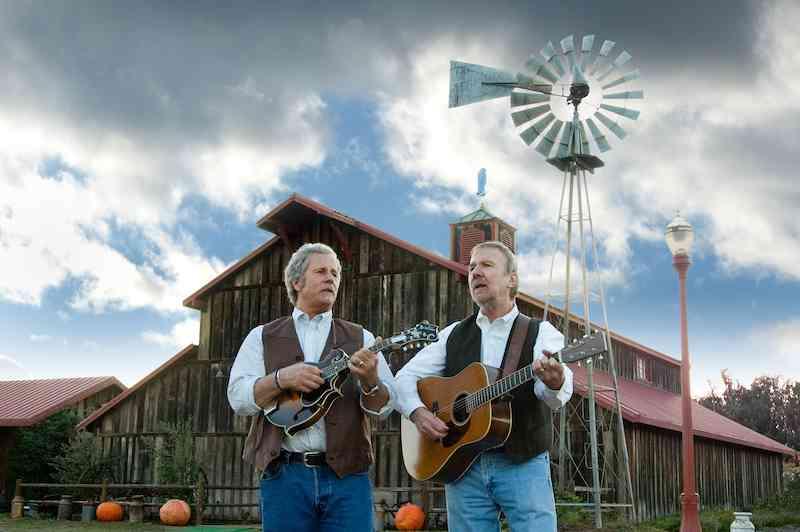 Chris Hillman and Herb Pedersen