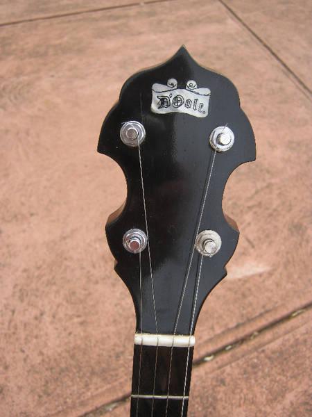 D'Oole 5 String Open Back Banjo – Lefty
