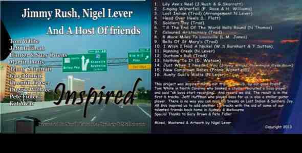 Inspired CD Cover