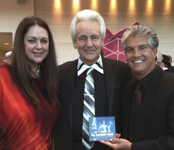 Donna Ulisse, Del McCoury and Jerry Salley