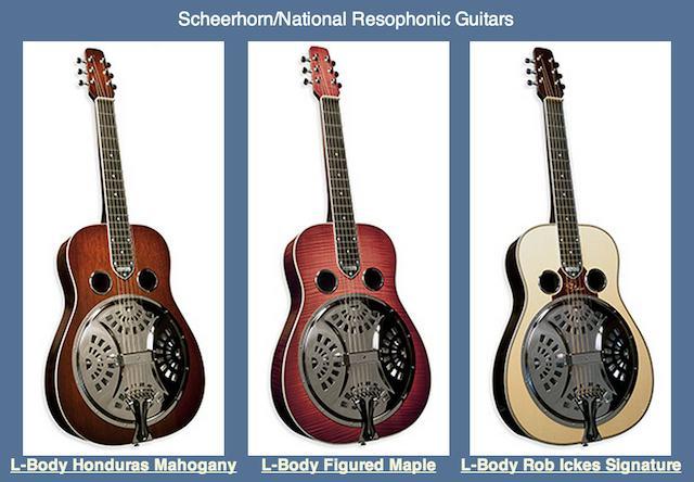Rob Ickes Resohponic Guitars