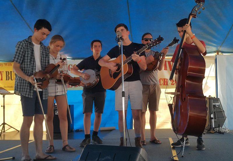 Ballarat Grammar Bluegrass Band