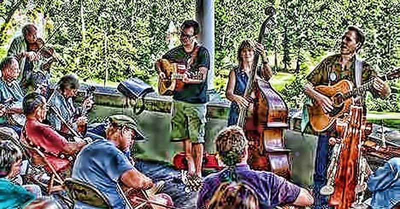 Bluegrass Jam at Tallowwood Park