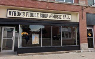 Byron's Fiddle Shop