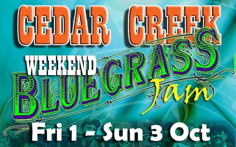 Cedar Creek Bluegrass Weekend